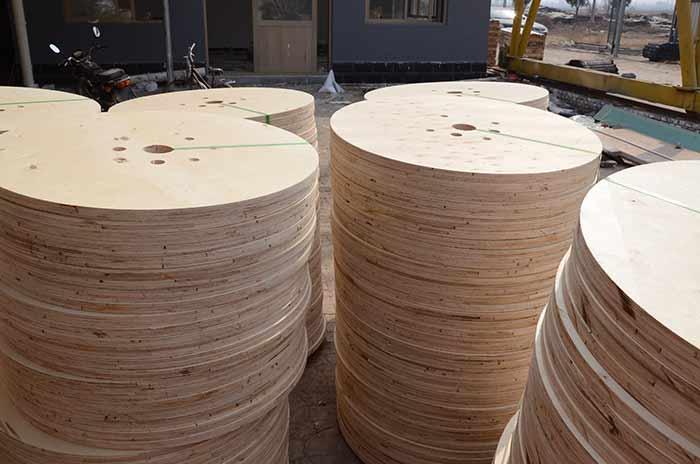电缆木轴胶合板