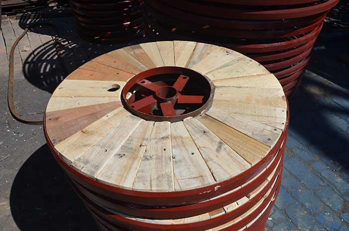 铁木结构电缆轴盘