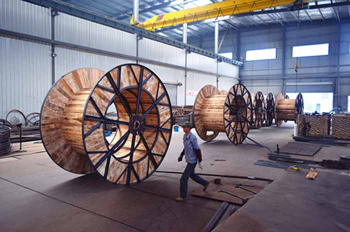 河北铁木电缆轴盘